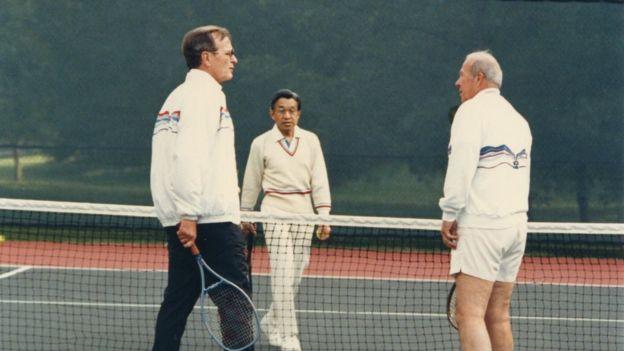 perlawanan tenis jepun lawan amerika