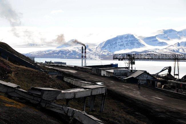 perlombongan longyearbyen