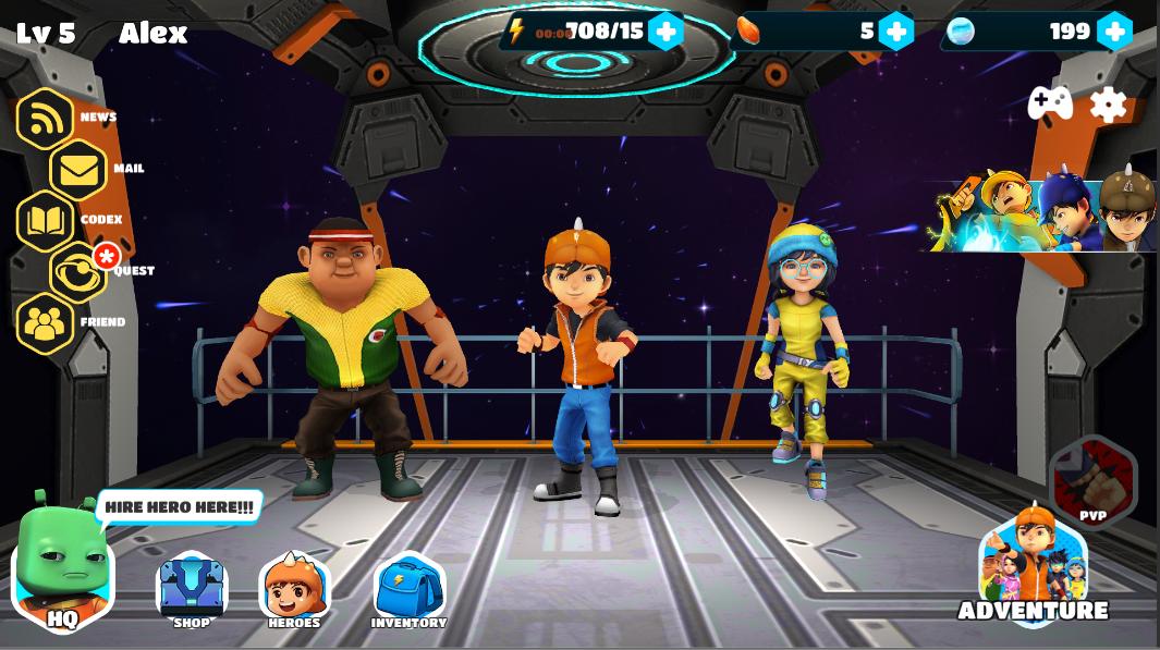 permainan video boboiboy galaxy