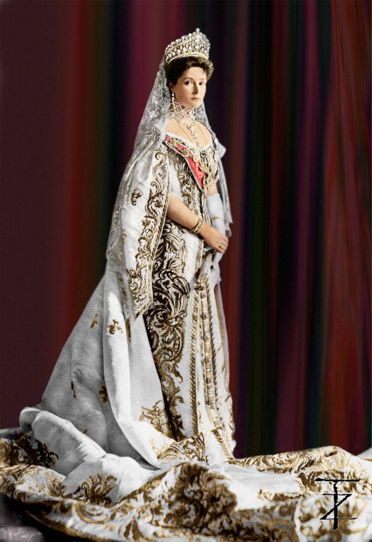 permaisuri alexandra feodorovna gambar berwarna