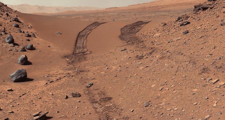 permukaan di planet marikh
