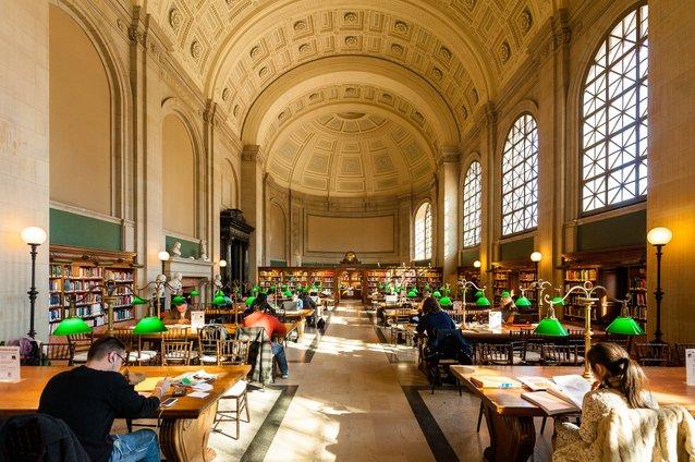 perpustakaan awam boston
