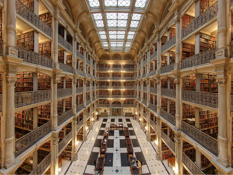 perpustakaan george peabody