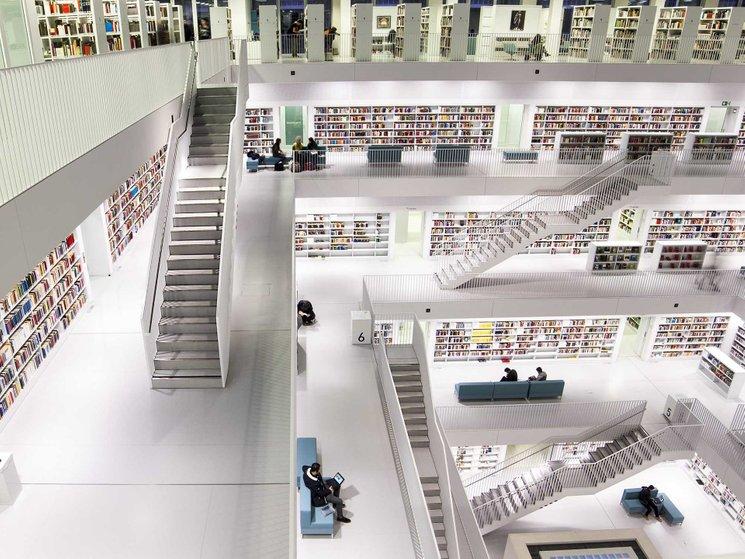 perpustakaan stuttgart