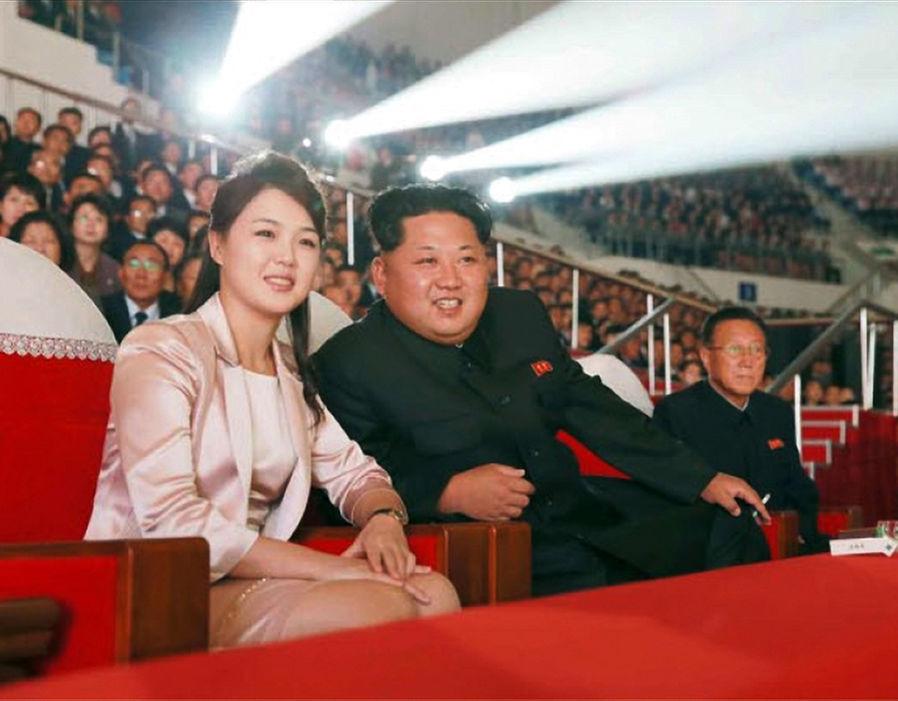 persidangan korea utara kim dan sol ju