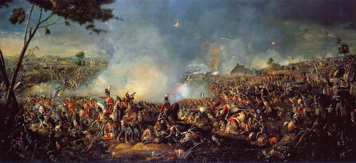 pertempuran waterloo