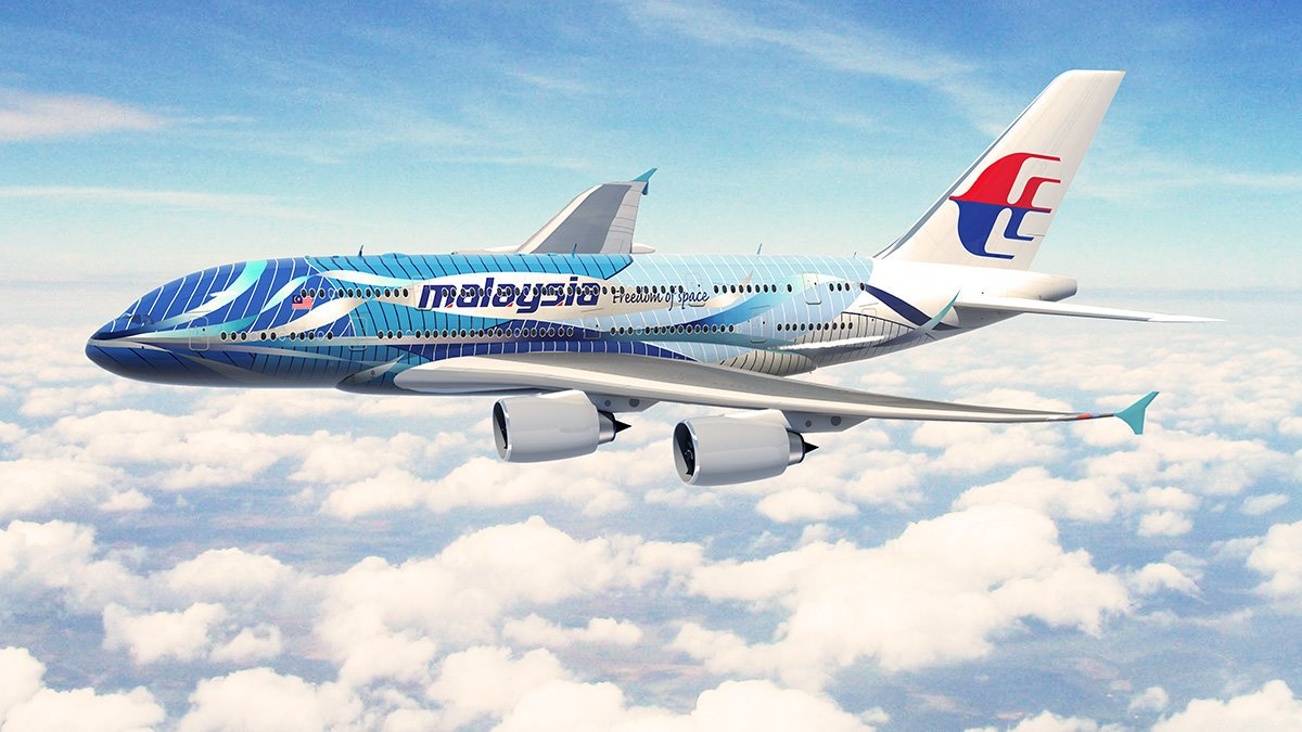 pesawat malaysia airlines