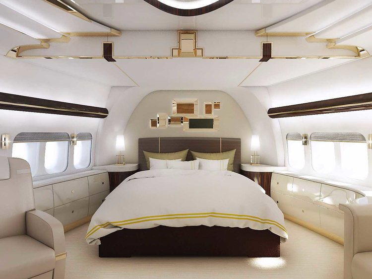 pesawat peribadi boeing 747 8