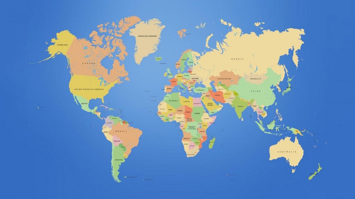 peta dunia 421