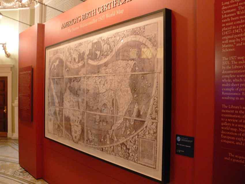 peta dunia pertama ada amerika di bangunan kongres