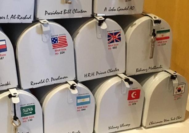 peti surat khas buat setiap pelanggan eksklusif bijan