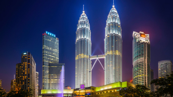petronas klcc twin tower vision 2020