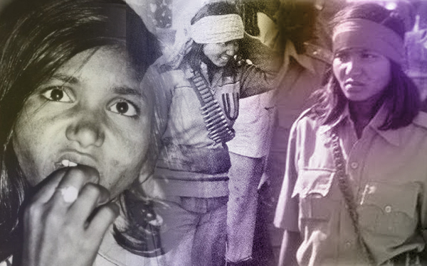 phoolan devi at young age
