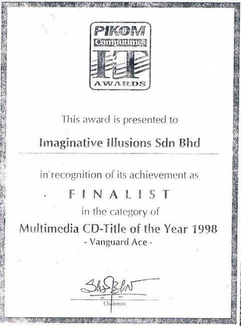 pikom multimedia sijil vanguard ace
