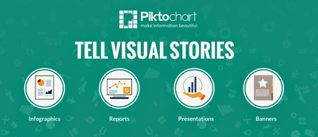 piktochart infographics tool