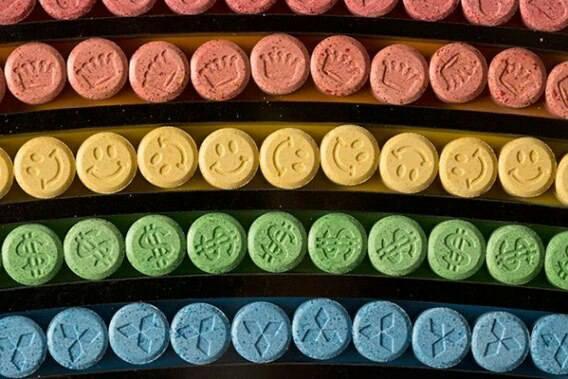 pil ecstacy bermacam warna
