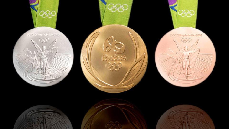 pingat di sukan olimpik rio 2016 merupakan yang paling besar dan berat tapi hanya mengandungi 1 2 kandungan emas