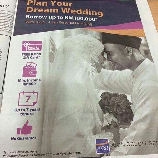 pinjaman peribadi khas untuk berkahwin