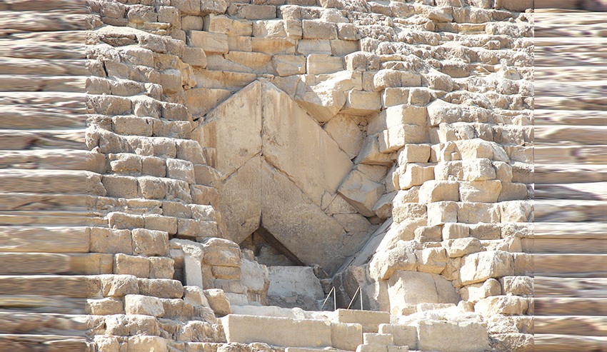 pintu piramid giza