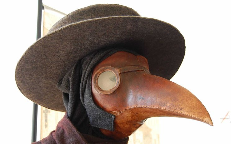 plague doctor topeng