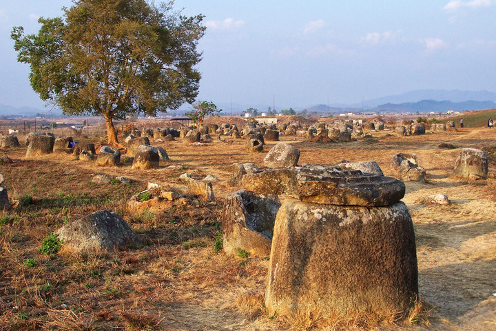 plain of jars phonsavanh laos