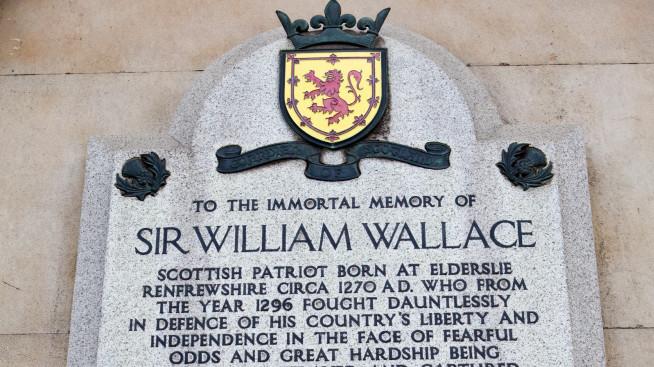 plak peringatan william wallace