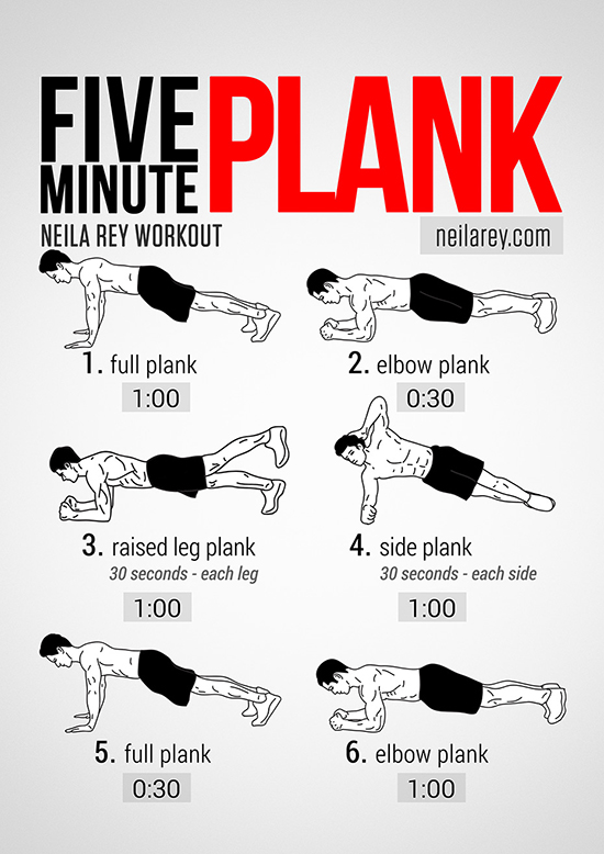 plank variations workout routine
