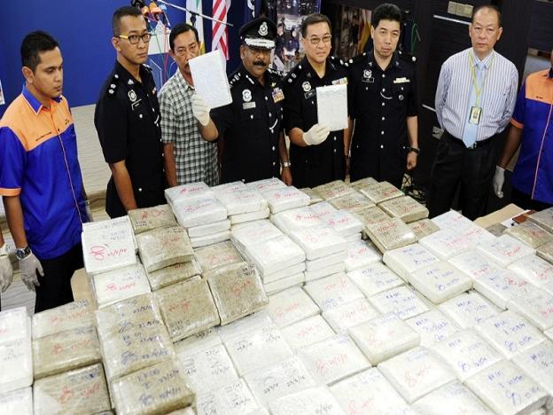 polis berjaya berkas dadah jenis ganja