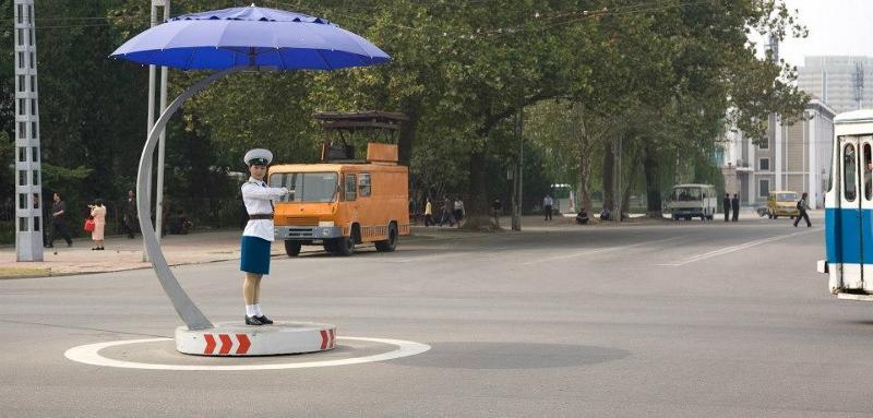 polis trafik korea utara 15 fakta pelik dan menarik mengenai korea utara
