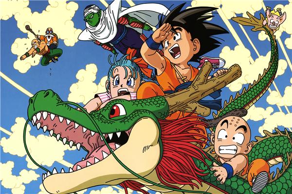 poster dragon ball baru oleh akira toriyama