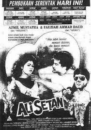 poster filem ali setan