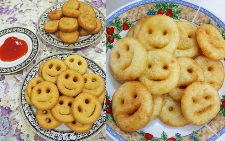 Resepi Potato Smile Yang Mudah Dan Berkhasiat Iluminasi