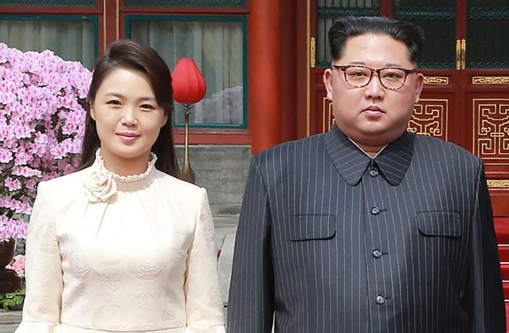 presiden korea utara bersama wife cantik