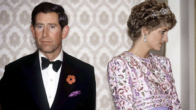 prince charles and princess diana on their last official trip together in november 1992