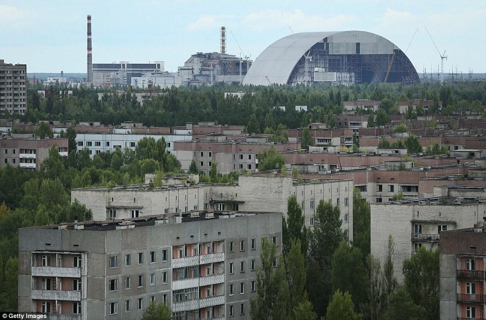 pripyat ukraine bandar tinggalan letusan loji nuklear chernobyl 2