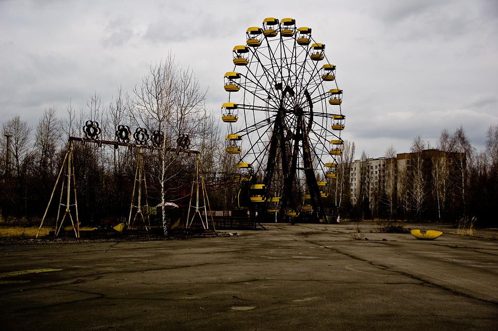 pripyat ukraine bandar tinggalan letusan loji nuklear chernobyl