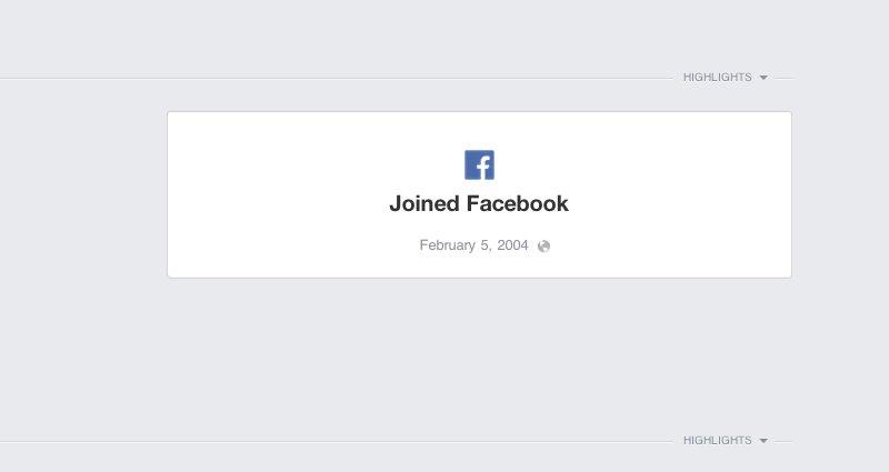 priscilla antara manusia terawal mempunyai akaun facebook pada tahun 2004