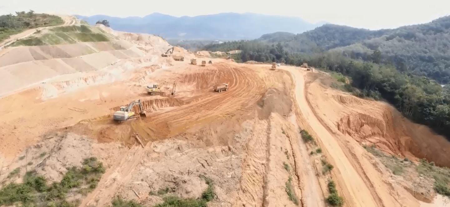 projek pembinaan lebuhraya wce 954