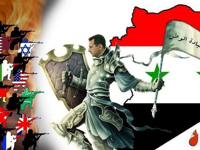 propaganda syria