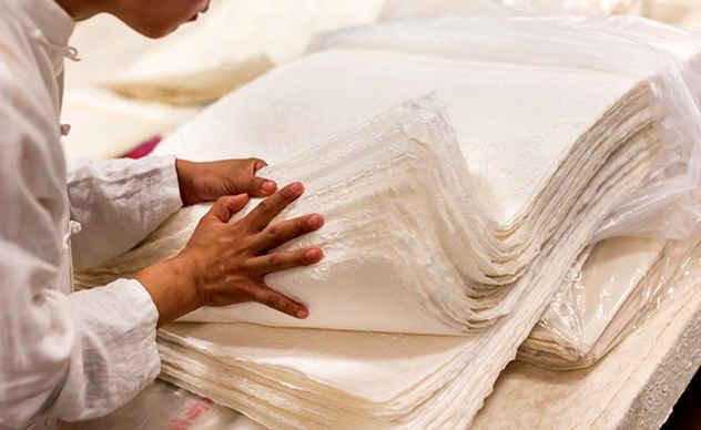 proses penghasilan kertas