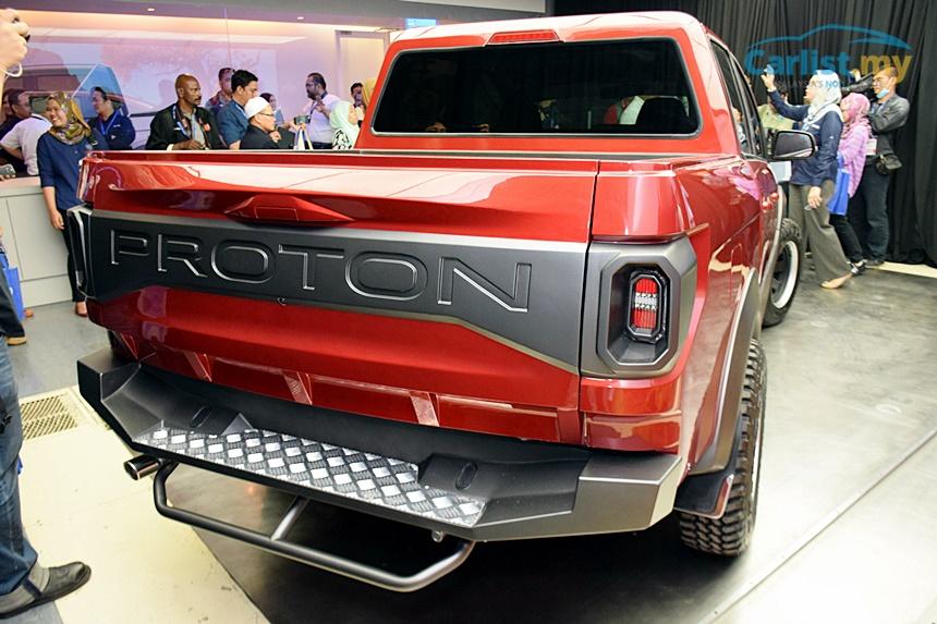 proton pickup trak konsep