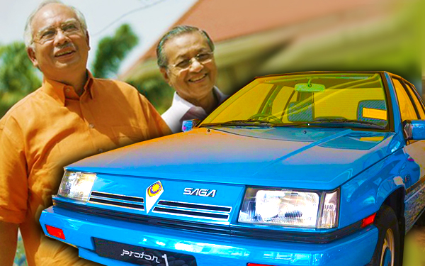 proton saga kereta nasional malaysia mahathir najib 752