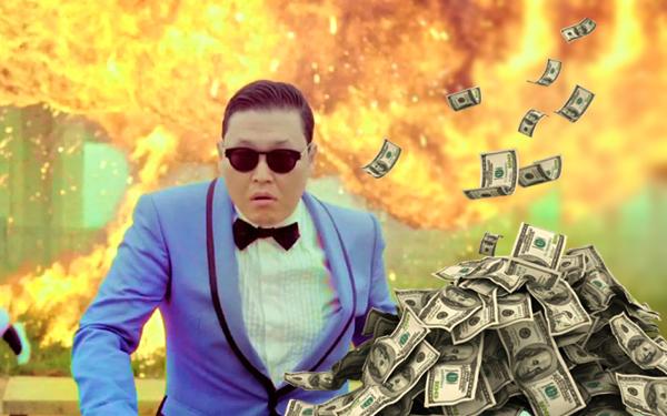 psy oppa gangnam style pendapatan youtube diterima