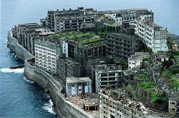 pulau larangan gunkanjima japan