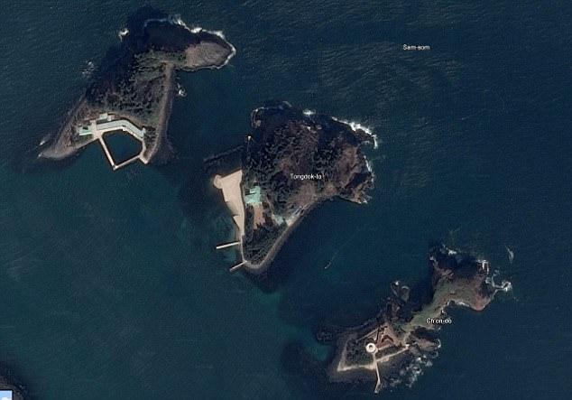 pulau milik kim jong un