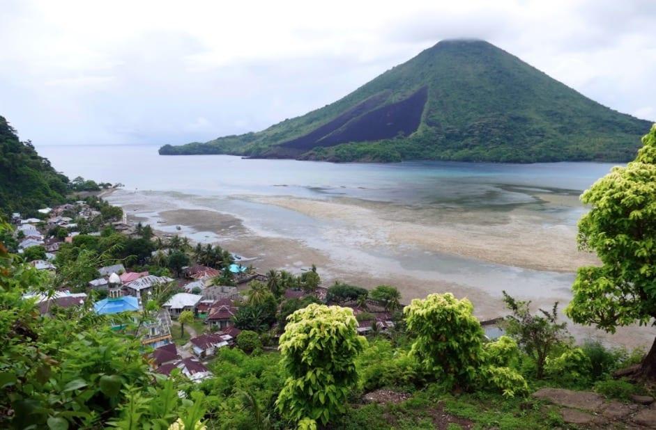 pulau run indonesia sekarang