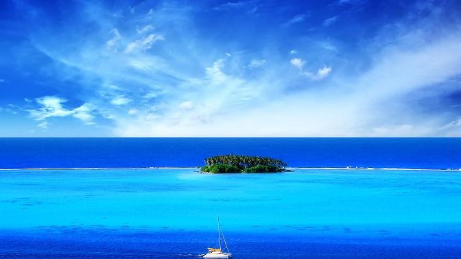 pulau yang indah
