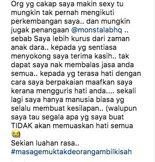 punca sebenar siti sarah mohon maaf di instagram 2