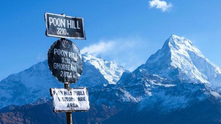 puncak gunung annapurna i