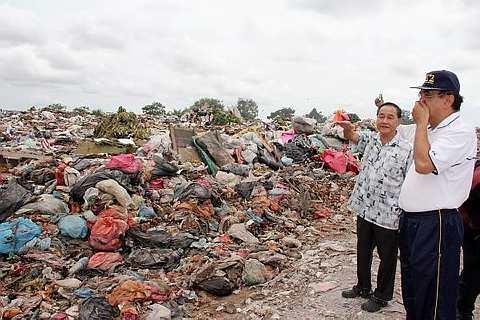 pusat pelupusan sampah